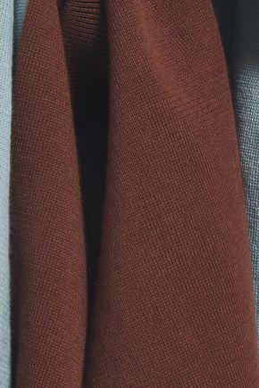 MARNI Two-tone cotton top