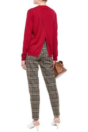 MARNI Wool and silk-blend sweater
