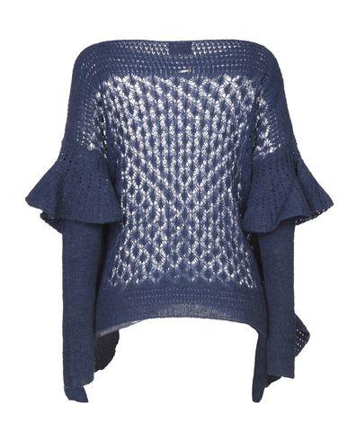 Фото 2 - Женский свитер  грифельно-синего цвета