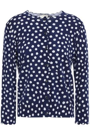 KATE SPADE New York Printed cotton cardigan