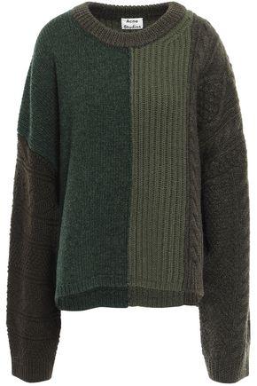 ACNE STUDIOS Color-block wool sweater
