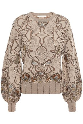 JONATHAN SIMKHAI 装飾付き ニット セーター