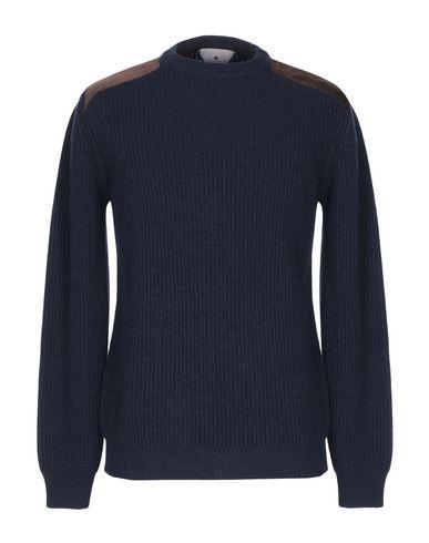 Купить Мужской свитер MACCHIA J темно-синего цвета
