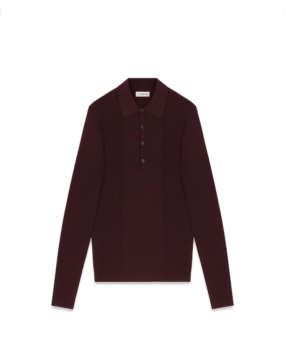 POLO IN MERINO WOOL - Lanvin