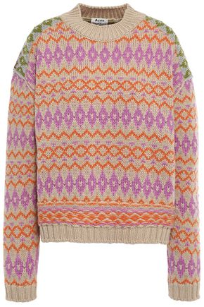 ACNE STUDIOS Wool-jacquard sweater
