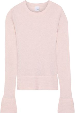 IRIS & INK Sigrid cotton and cashmere-blend sweater