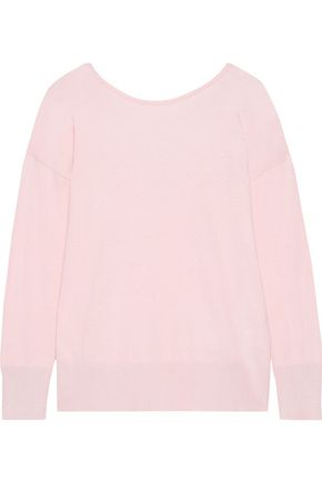IRIS & INK Signy cotton-blend sweater