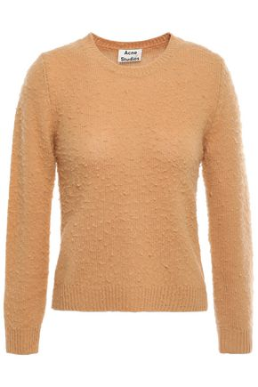 ACNE STUDIOS Brushed wool and cashmere-blend sweater