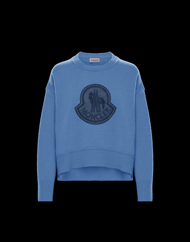 CREWNECK Pastel blue Category Crewnecks