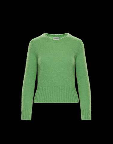 CREWNECK Green Category Crewnecks Woman