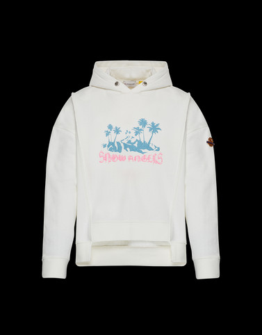 SWEATSHIRT White 8 Moncler Palm Angels