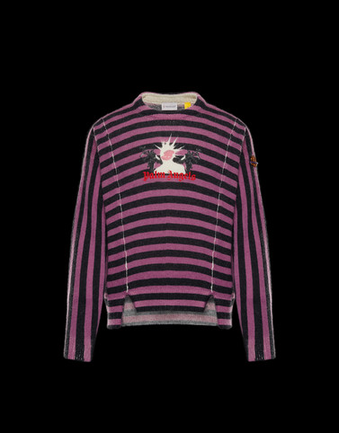 CREWNECK Multicolor 8 Moncler Palm Angels
