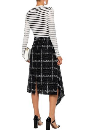 MARKUS LUPFER Mia sequin-embellished striped cotton sweater