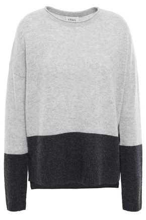 CHARLI Charlo intarsia cashmere sweater