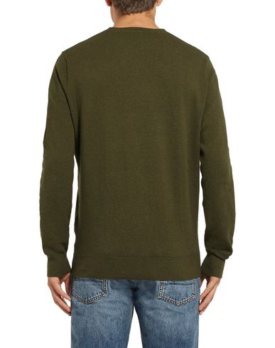 Фото 2 - Мужской свитер J.CREW цвет зеленый-милитари
