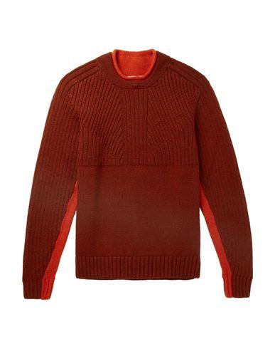 Фото - Мужской свитер  кирпично-красного цвета