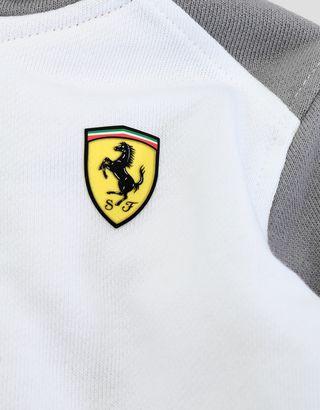Scuderia Ferrari Online Store - Infants' fleece sweatshirt with full zipper - Zip Hood Sweaters