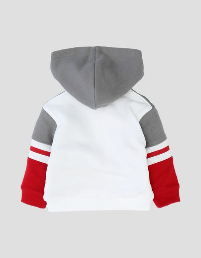 Infants' fleece sweatshirt with full zipper