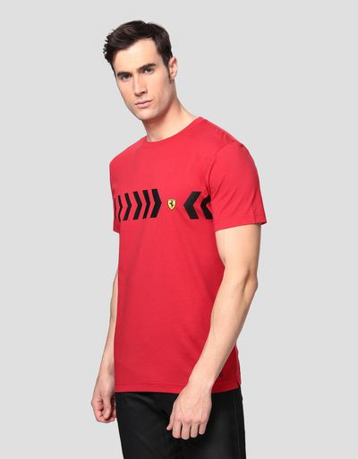 Men's printed cotton T-shirt
