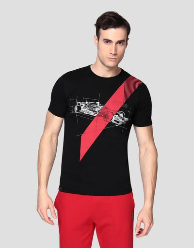 73a80778e Ferrari Men's T-shirts | Scuderia Ferrari Official Store