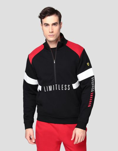 Herrensweater mit Print LIMITLESS