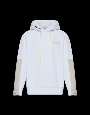 SWEATSHIRT White Category HOODED SWEATSHIRTS