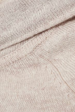 AUTUMN CASHMERE Bow-detailed cashmere hoodie