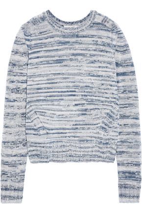 AUTUMN CASHMERE Marled cashmere sweater