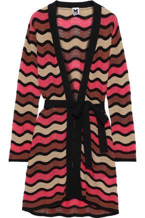 M MISSONI Crocheted cotton-blend cardigan