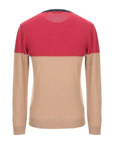 Фото 2 - Мужской свитер MQJ красного цвета