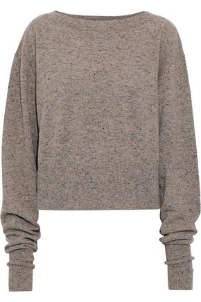 AUTUMN CASHMERE Marled cashmere sweater