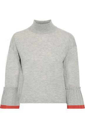 AUTUMN CASHMERE Mélange cashmere sweater