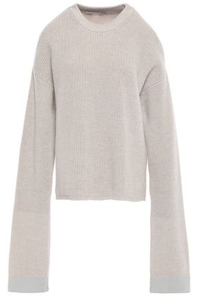 STELLA McCARTNEY Cold-shoulder wool sweater