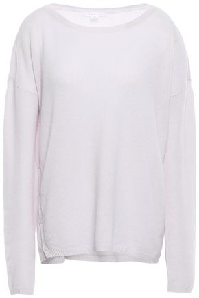 DUFFY Button-detailed cashmere sweater