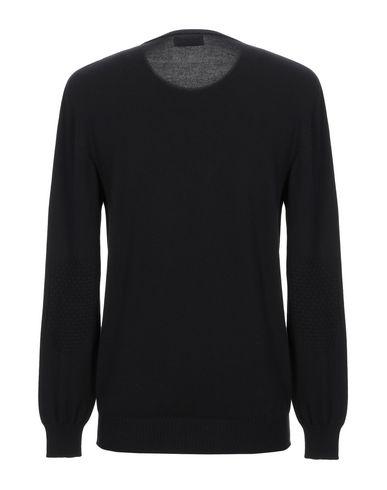 Фото 2 - Мужской свитер AROVESCIO черного цвета