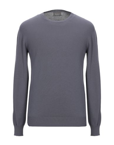 Фото - Мужской свитер AROVESCIO свинцово-серого цвета
