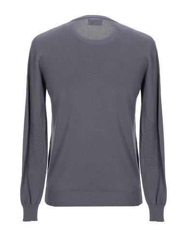Фото 2 - Мужской свитер AROVESCIO свинцово-серого цвета