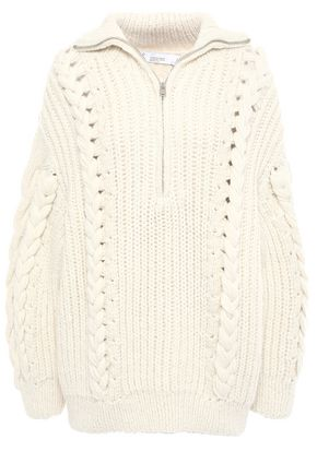 IRO Pure cable-knit alpaca-blend sweater