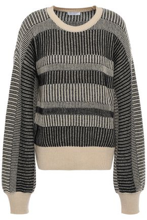 EQUIPMENT Aubin wool and cashmere-blend jacquard sweater