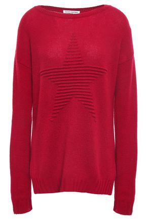 AUTUMN CASHMERE Cashmere-jacquard sweater