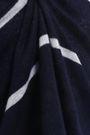 AUTUMN CASHMERE Striped cashmere and silk-blend sweater