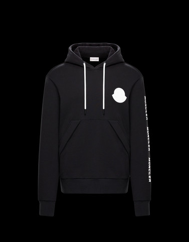 MONCLER SWEATSHIRT - HOODED SWEATSHIRTS - men