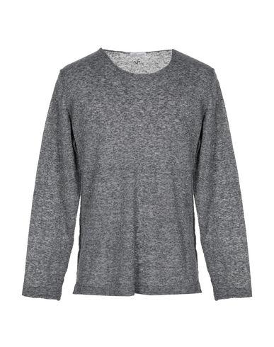 Купить Мужской свитер DANIELE ALESSANDRINI HOMME свинцово-серого цвета