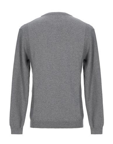 Фото 2 - Мужской свитер  серого цвета
