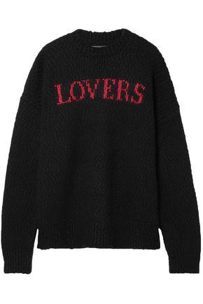 AMIRI Intarsia wool-blend sweater