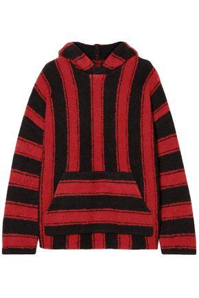 AMIRI Baja striped wool-blend hooded sweater