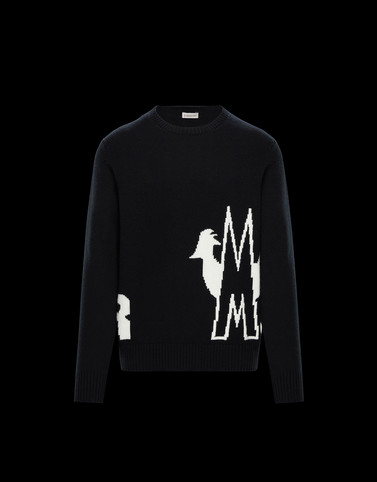 CREWNECK Black Category Crewnecks Man