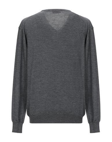 Фото 2 - Мужской свитер SENSES свинцово-серого цвета