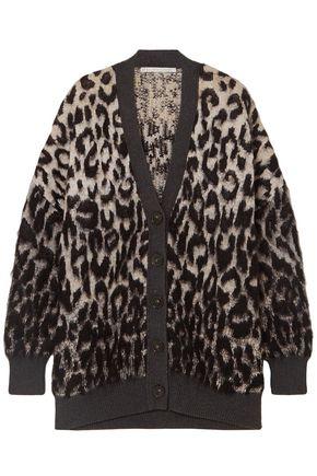 STELLA McCARTNEY Oversized brushed jacquard sweater