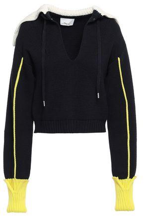 3.1 PHILLIP LIM Color-block cotton sweater